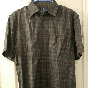 Microfiber woven shirt